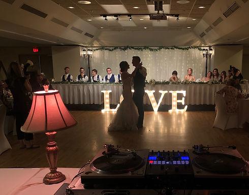 wedding dance at the Sawridge Inn in Jasper