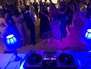wedding dance in Jasper at the Sawridge Inn
