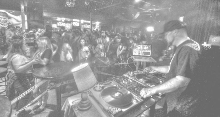 DJ K-Train at 4 Peaks nightclub in Jasper
