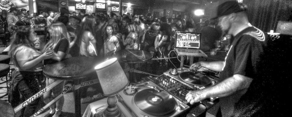 DJ Kenny rocking the crowd.
