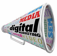 Digital Marketing Media Bullhorn
