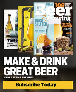 Craft Beer & Brewing Subscribe Today
