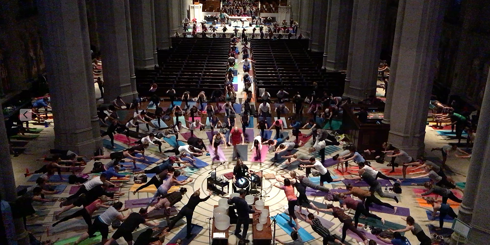 Yoga for Change at Grace Cathedral