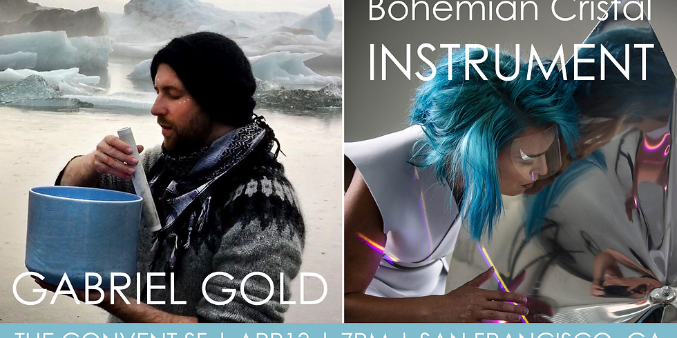 Convent Concerts: Gabriel Gold + Bohemian Cristal Instrument