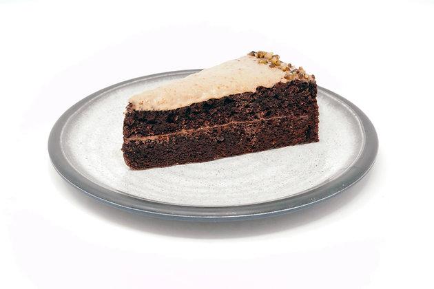 Keto Chocolate Salty Caramel Cake