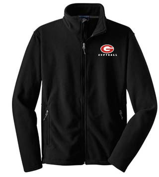 Mens Fleece Jacket - Embrodered
