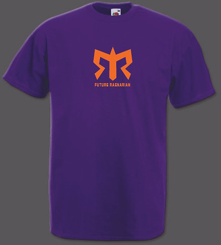 Purple 100% Cotton Tee