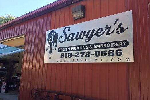 sawyer's screen printing