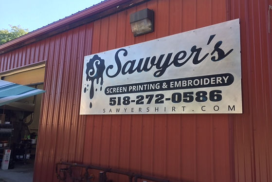 sawyer's screen printing