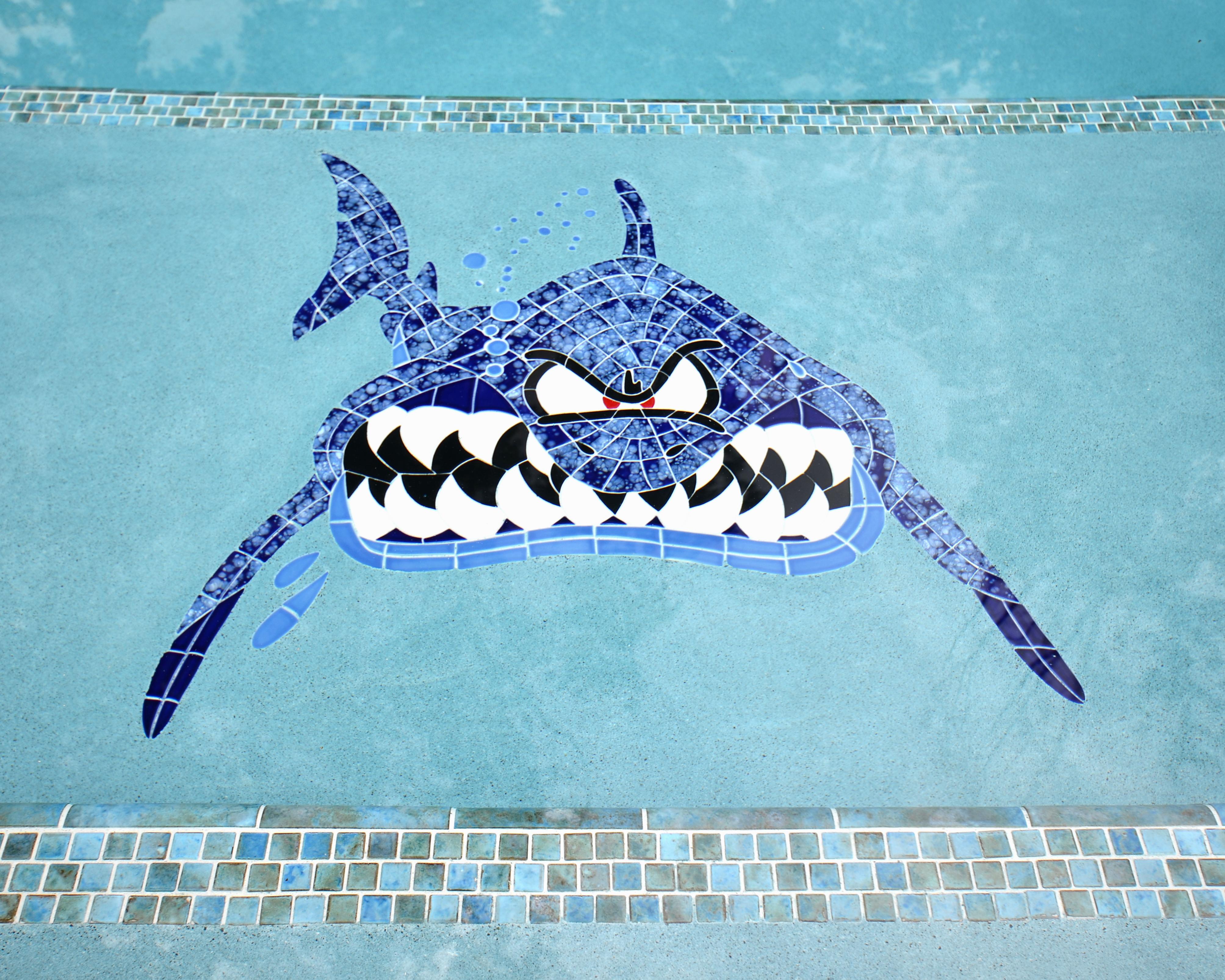Shark Mosaic