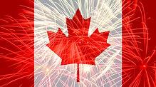Canada flag against fireworks.jpg