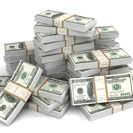Take the cash...