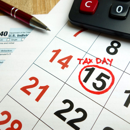 Federal Tax Deadline Moved