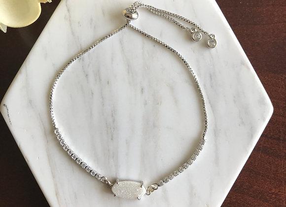 Charity Pave + Druzy Bracelet