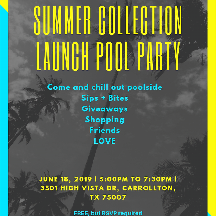 Summer Collection Launch Pool Party