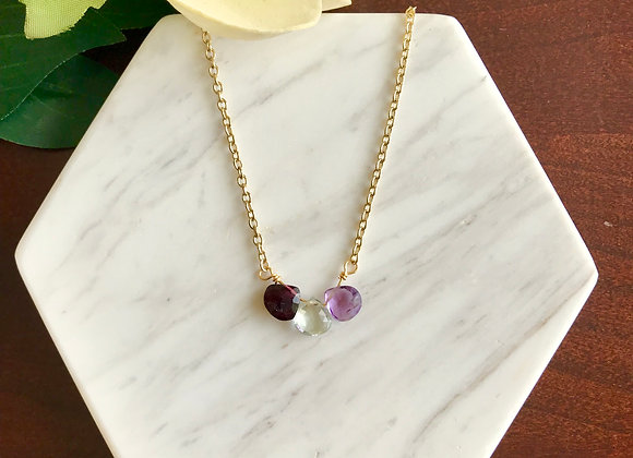 Life Together Birthstone Necklace