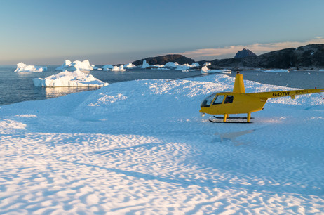 Transatlantic Helicopter Delivery