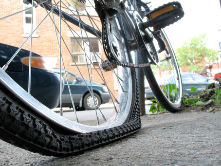 Look after your electric bike tyres