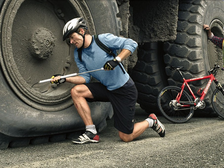 Punctures ... the curse of the cyclist