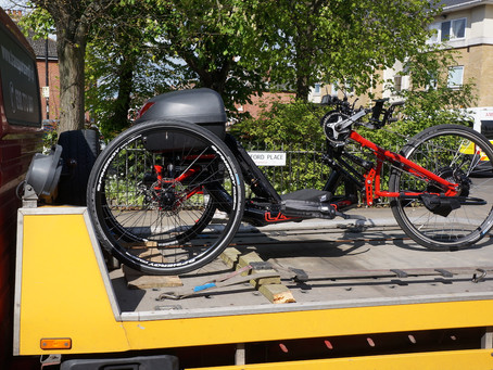 Trike is ready to go