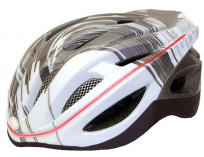 bike helmet with in built lights