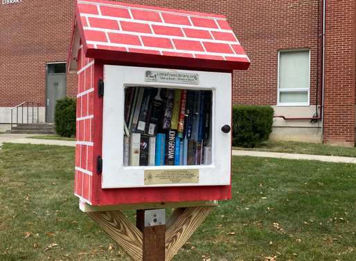 Pi Beta Phi opens Little Library to promote literacy