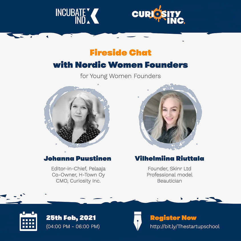Fireside Chat with Nordic Women Founders