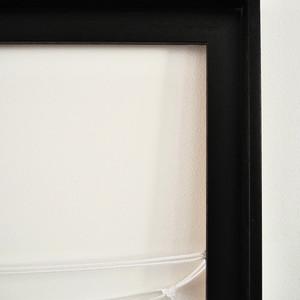 Black stain wooden floater frame