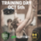 training day  workshop OCT 5th 2pm - 4pm