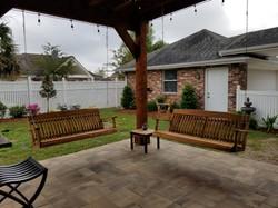 Cypress Porch Swings