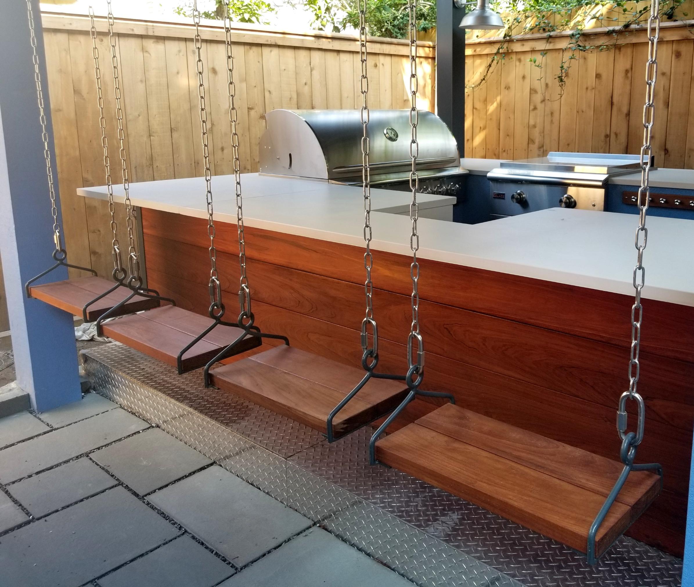 Bar With Swings