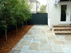 Natural Stone Patio and Decking