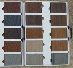 Composit Wood Samples