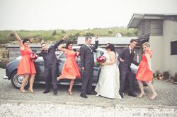 Snap snap snap at Boomrock wedding