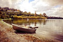 Autumnal Lake Taupo
