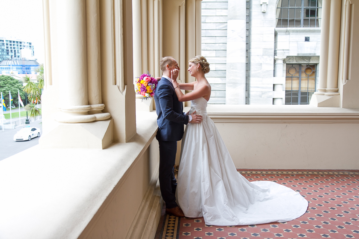 Wellington wedding at Old St Pauls