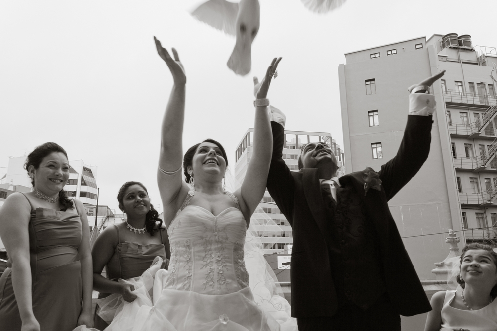 Sheer Joy at this Catholic wedding