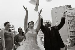 Sheer Joy at this Catholic wedding
