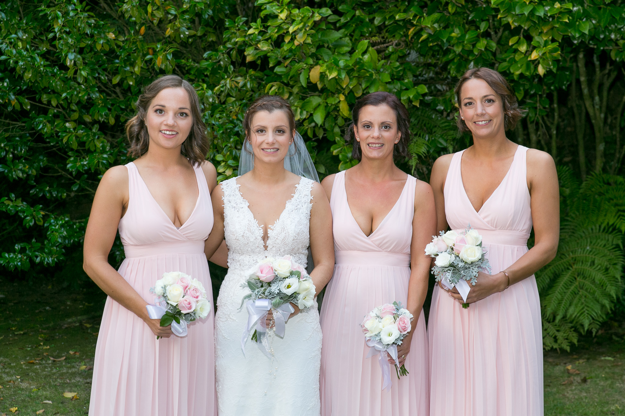 wallacevile house wedding bridesmaid