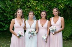 wallacevile house wedding bridesmaid