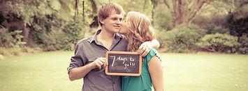 Save the date wellington wedding photoshoot