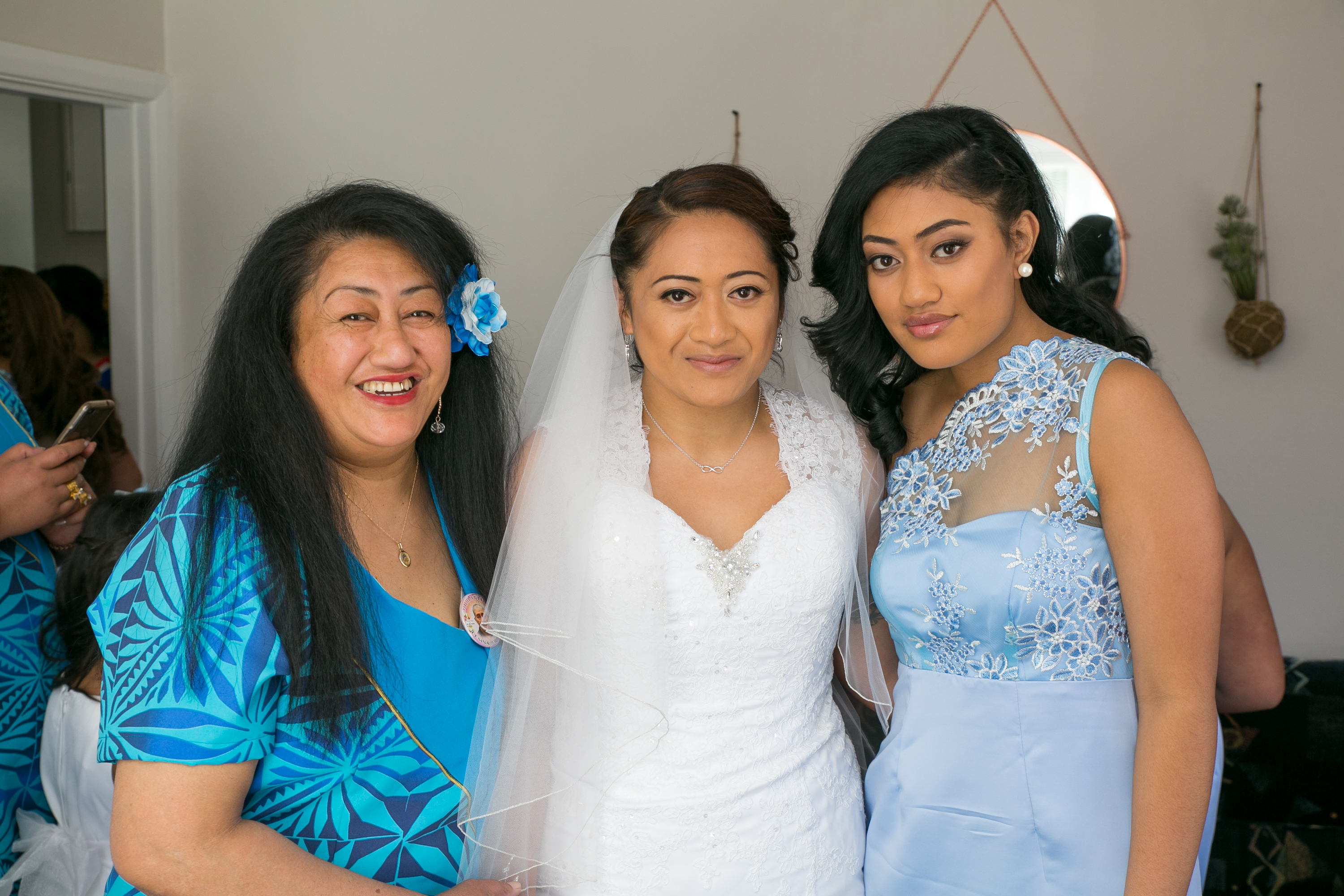 Samoan wedding bride