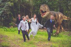 T Rex attacks!