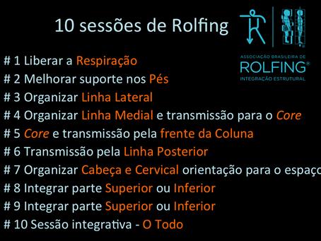 A série de Rolfing® Integração Estrutural