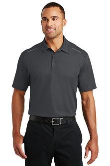Men's Sport Polo, 4.3oz Short Sleeve Pinpoint Mesh - K580