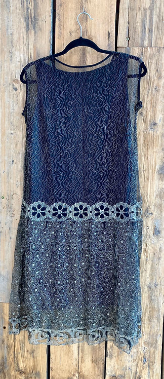 Original 1920's Flapper Evening Dress