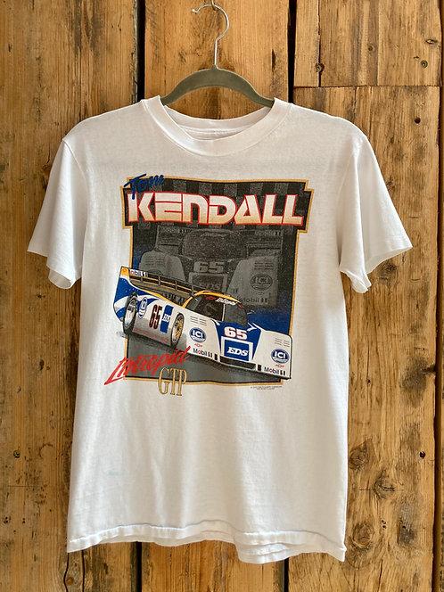 Vintage 90's Nascar White T Shirt