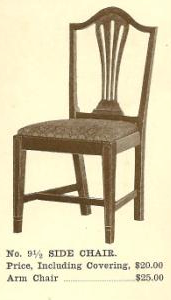 B13016 Side Chair w-Arms