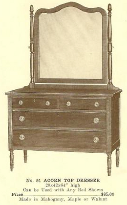 GFS- B13143 Acorn (or Pineapple)  Top Dresser