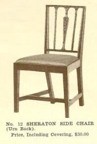 GFS- B13043 Sheraton Side Chair~Urn Bac